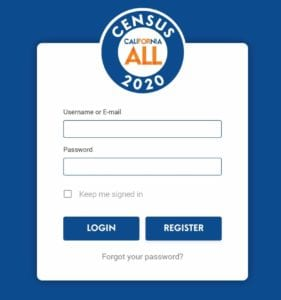 Census For All signin